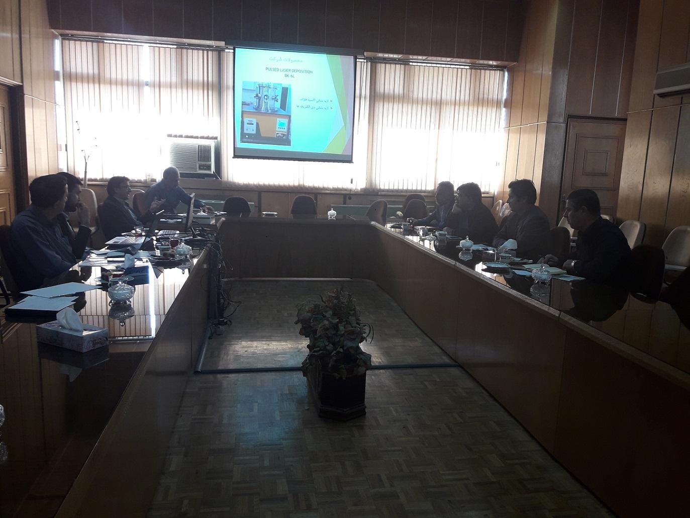 هفتمین جلسه از پنجمین دوره هیئت مدیره انجمن خلأ ایران برگزارگردید