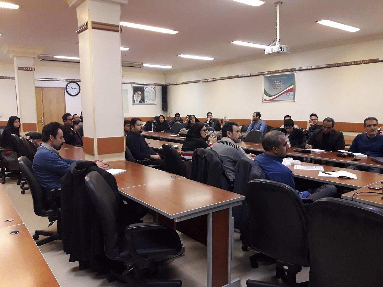 برگزاری جلسه سوم دوره جامع آموزش دانش و فناوری خلأ