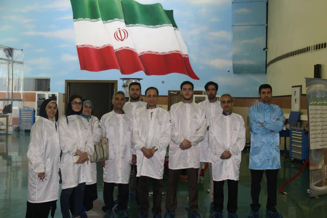 بازدید از پژوهشگاه فضایی ایران