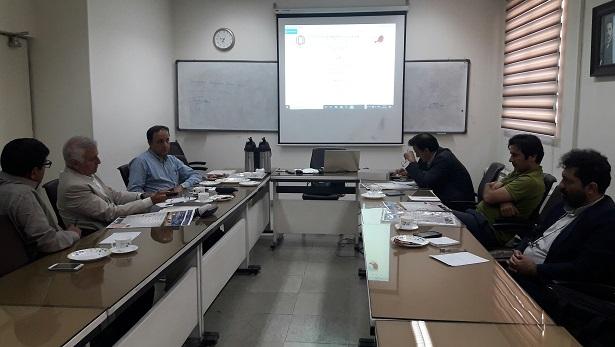 برگزاری جلسه مشترک انجمن با دبیران علمی و اجرایی نهمین کنفرانس ملی خلأ ایران